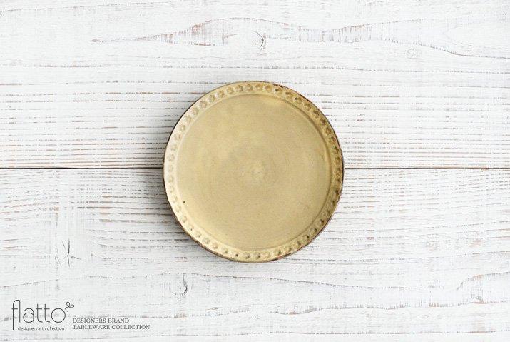 武曽健一|印花5寸皿(黄)