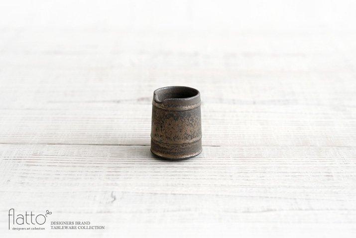 竹口要|ミルクピッチャー(ラトン・砂金)