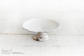 古谷浩一|鉄散 彫刻コンポート皿18cm