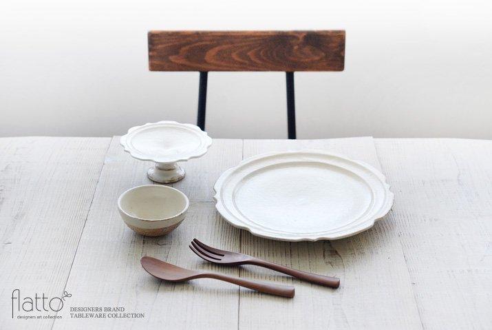 古谷浩一|鉄散 彫刻コンポート皿13cm-03