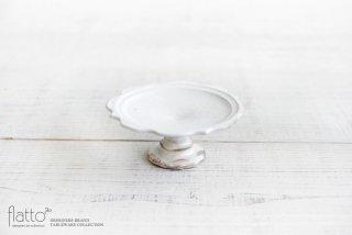 古谷浩一|鉄散 彫刻コンポート皿13cm