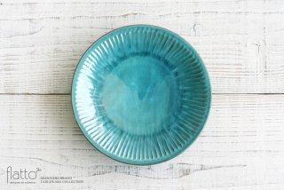市野耕|アトランティコブルー 7寸鎬皿