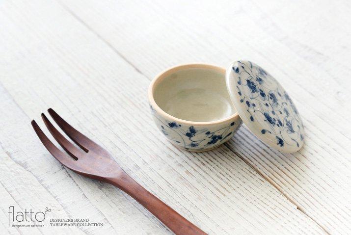 石井桃子|花唐草 蓋物I-02