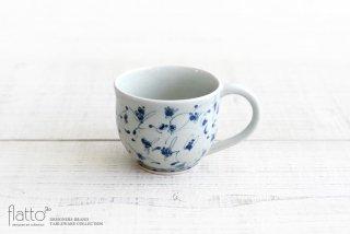 石井桃子|花唐草マグカップ(丸)