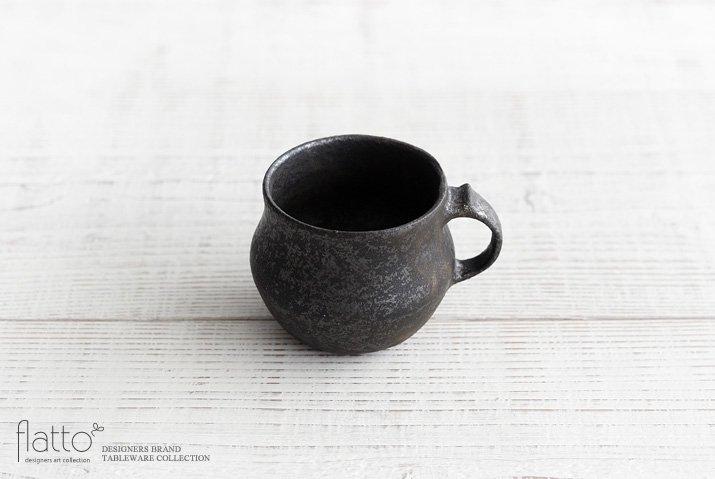 安福由美子|錆マグカップ