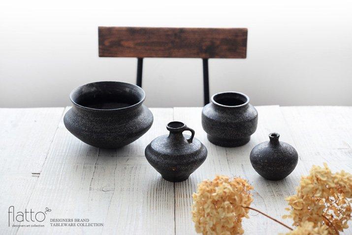 安福由美子|錆花器(小)-03