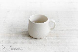 安福由美子|白マットマグカップ(丸)