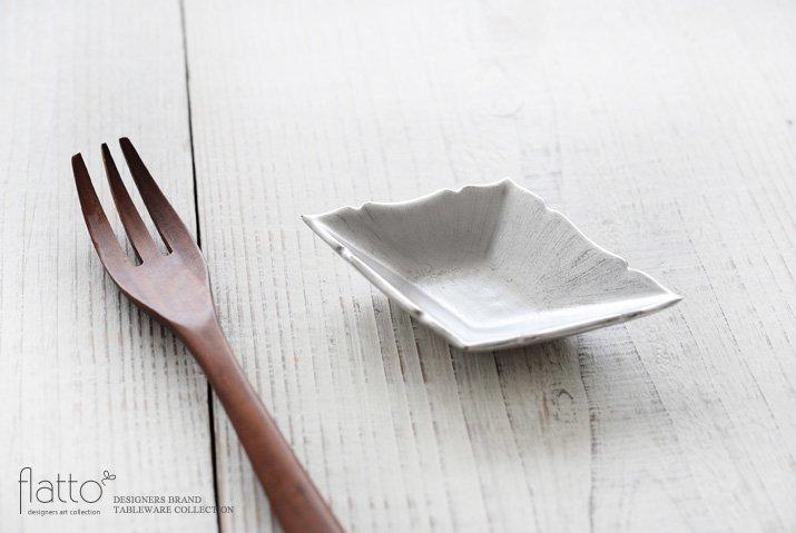 木下和美|銀彩ひし形豆皿-02