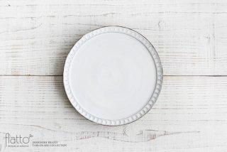 武曽健一|印花6寸皿(白)