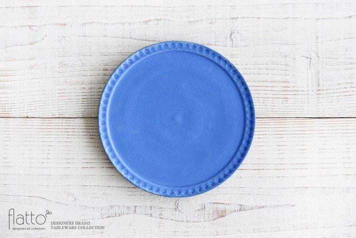 武曽健一|印花6寸皿(青)