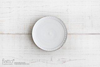武曽健一|印花5寸皿(白)