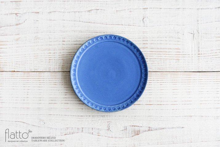 武曽健一|印花5寸皿(青)