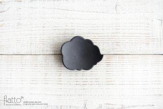東一仁|ブラック ウンリュウ豆皿