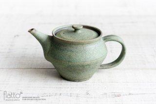 福井亜紀|緑砂ポット(大)