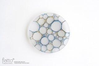 吉村桂子|イロアミプレート(陽だまりの皿・BBr)