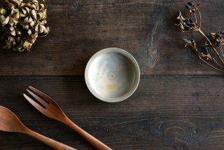 【WEB展示会】|市野耕|マンガン釉 3寸リム皿