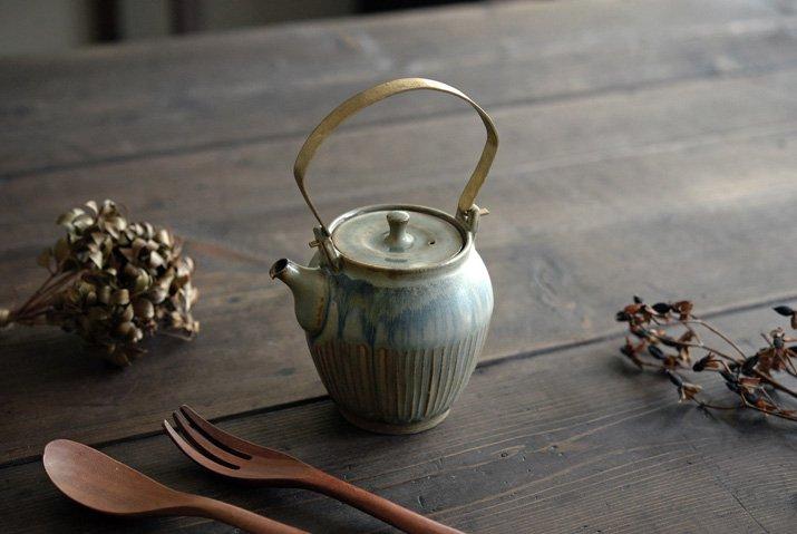 【WEB展示会】|市野耕|彩色灰釉 土瓶