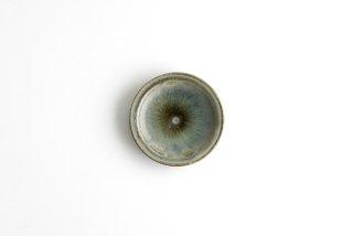 市野耕|彩色灰釉 3寸リム皿