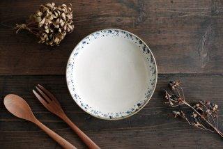 石井桃子|花唐草 6寸リム皿