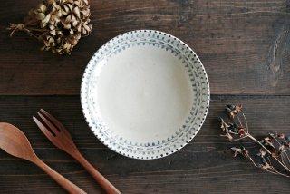 石井桃子|6寸リム皿(魚柄)