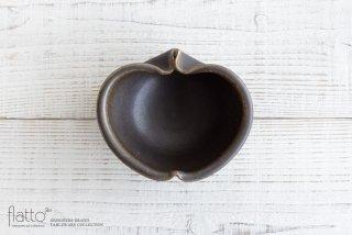 古谷浩一|錆釉 りんご小鉢