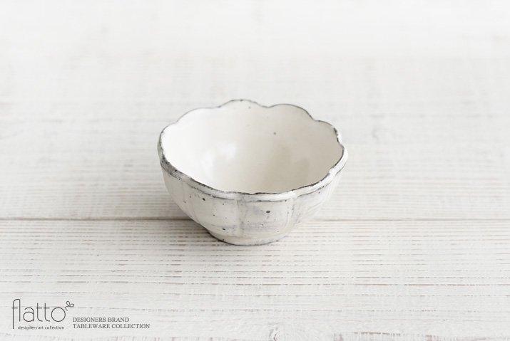 加藤祥孝|粉引 3.5寸輪花鉢