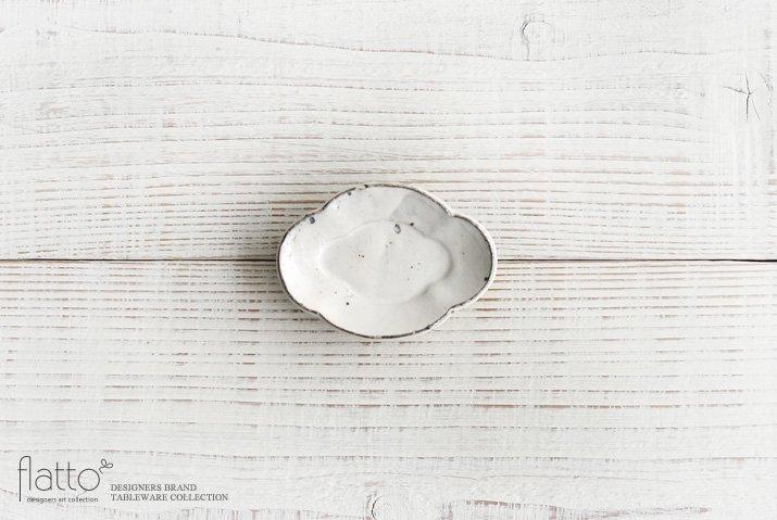 加藤祥孝|粉引 木瓜豆皿