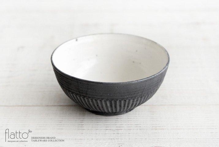 加藤祥孝|粉引/鉄釉 めん鉢