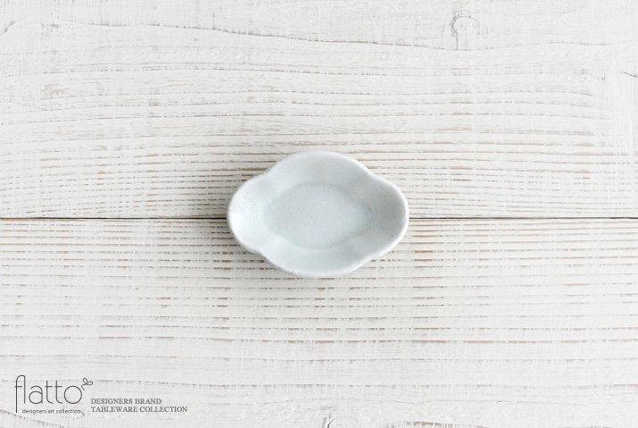 加藤祥孝|青白磁 木瓜豆皿