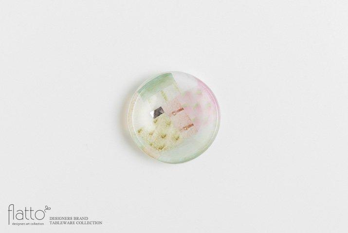 吉村桂子|ツギハギ豆皿(7cm)