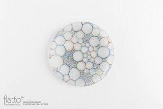 吉村桂子|イロアミプレート(陽だまり丸皿 18cm)