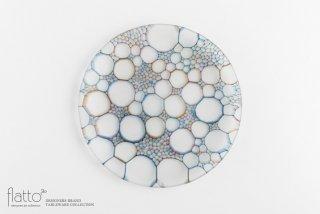 吉村桂子|イロアミプレート(陽だまり丸皿 23cm)