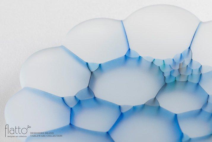 吉村桂子 イロアミプレート(陽だまり花皿 12cm)-02