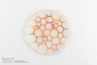 吉村桂子|イロアミプレート(陽だまり花皿 23cm)