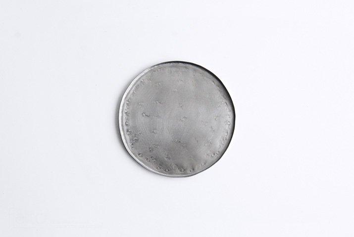 永島義教|丸小皿12cm(ステンレス)
