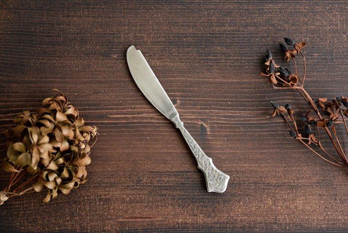 永島義教|いぶし バターナイフ