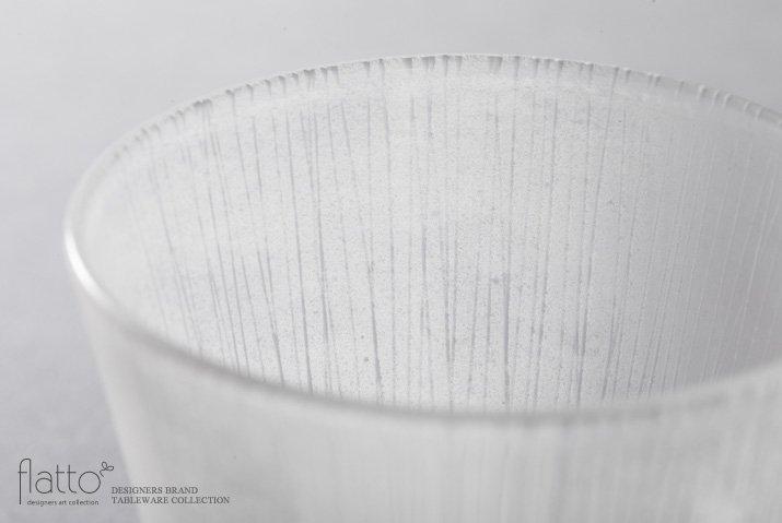 金津沙矢香|風景のドローイング ロンググラス(あめ)-02