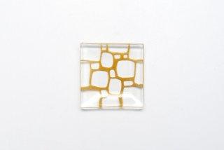 サブロウ|豆皿(a・びわ茶)