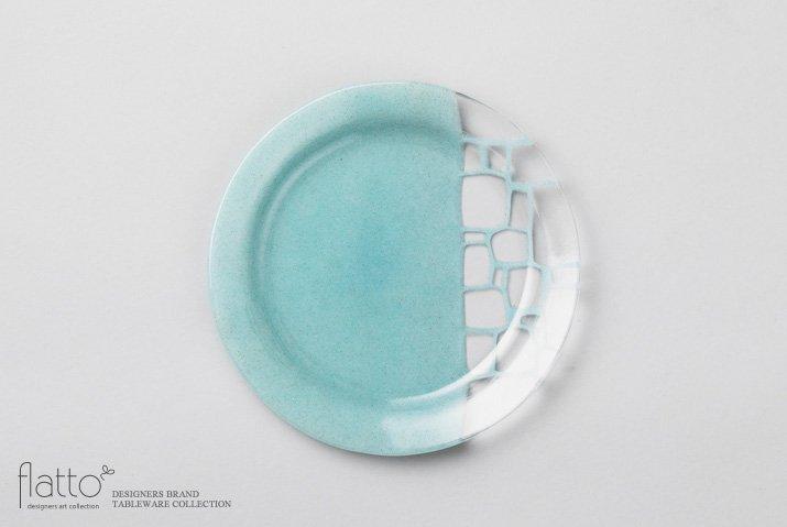 サブロウ リム皿(22b・みず)