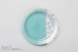 サブロウ|リム皿(22b・みず)|和食器