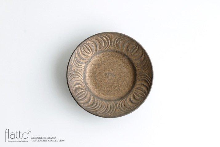 器のしごと 鉄sabi アンティークな小皿