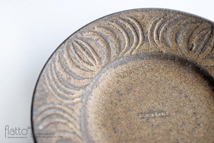 器のしごと 鉄sabi アンティークな小皿-02