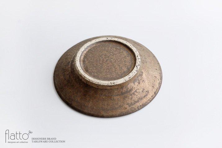 器のしごと 鉄sabi アンティークな小皿-04