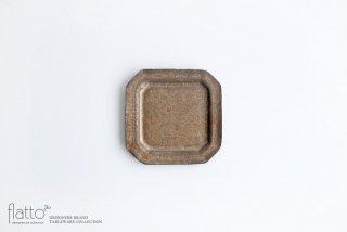 村上直子|鉄sabi 八角小皿