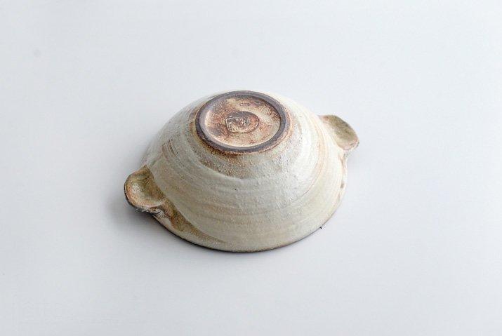 古谷浩一|渕荒粉引 耳付丸小鉢-04