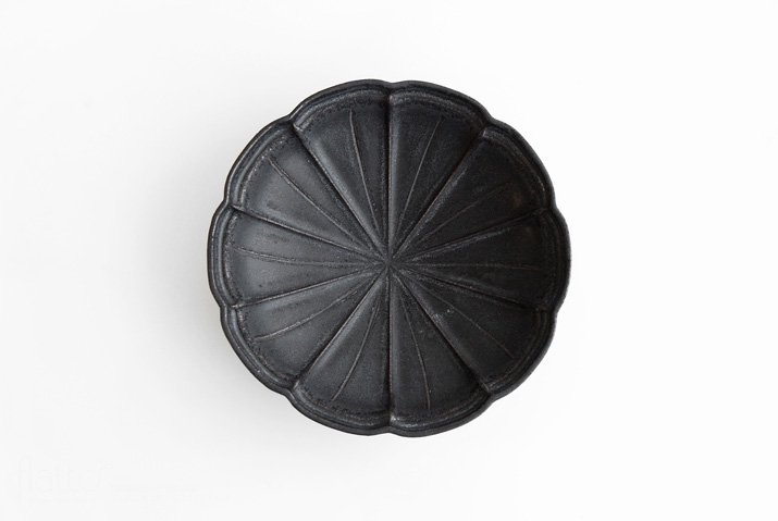 器のしごと 黒錆 はなび鉢-03