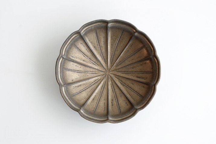 器のしごと 鉄sabi はなび鉢-03