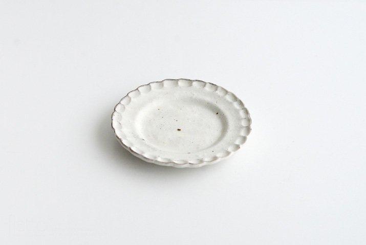 器のしごと|shiro moegi 小菊プレート(小)-03