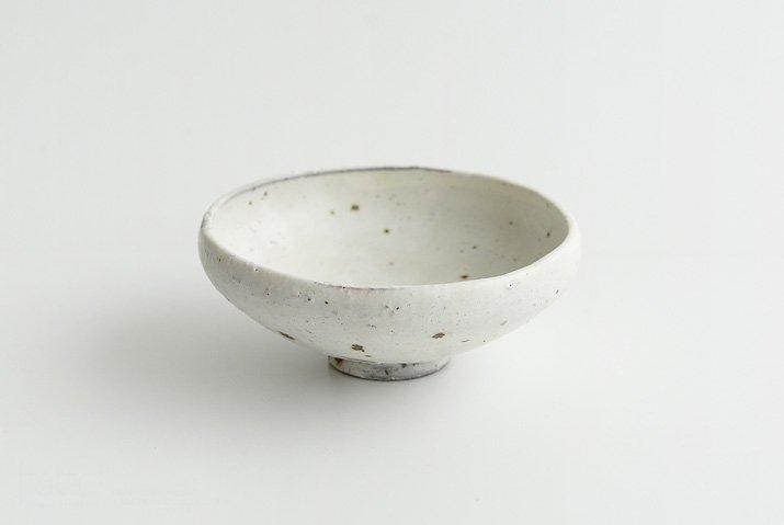 器のしごと shiro moegi ごはん茶わん(浅)-03