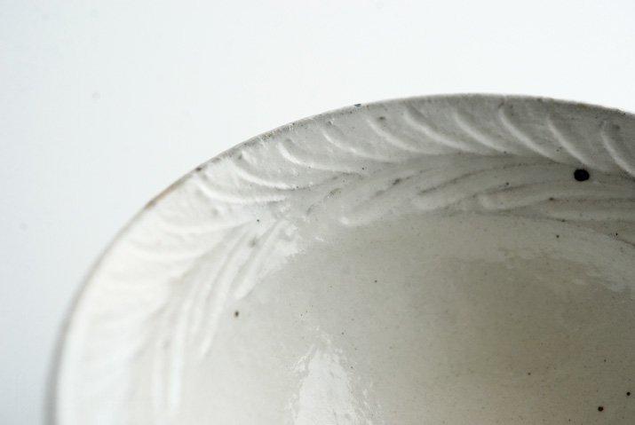 古谷浩一 鉄散リーフ 平めし碗(中)-02